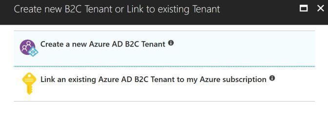 Create an Azure Active Directory B2C
