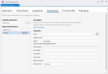 Desktop Applications with XAML  Part 2: Desktop Bridge