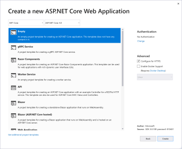 Choosing the right ASP NET Core technology – csharp